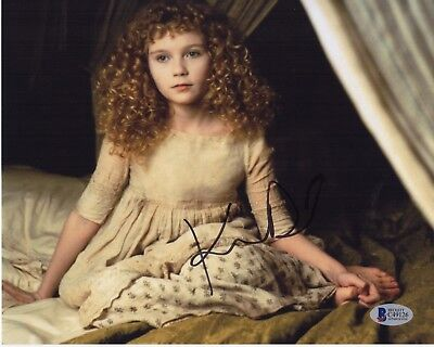 Kirsten Dunst Signed Interview With The Vampire 8X10 Photo Autograph Bas Coa Psa