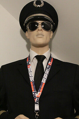 FedEx Federal Express airlines Lanyard neckstrap Lanyard for pilots, crews, fans