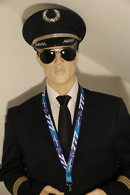 BOEING 777 Lanyard neckstrap Lanyard for pilots, crews.. NEW 2BLUE