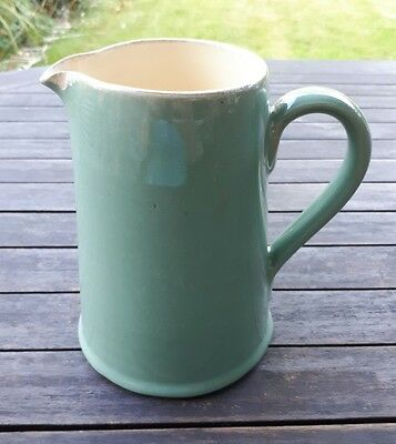 Vintage Denby Manor Green 1.25 Pint Jug, Six Inches High