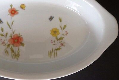 Country Flowers Andrea Augratin / Serving Dish / Oven To Table / 9234/ 10.5""