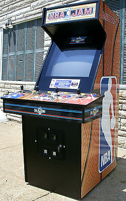 NBA Jam Arcade Video Game-Sharp-Totally refurbished-New Monitor & Parts-Like New