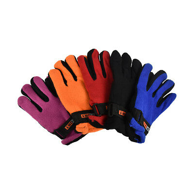 New Gloves Kids Polar Fleece Warm Winter Adjustable Gloves Great Colors