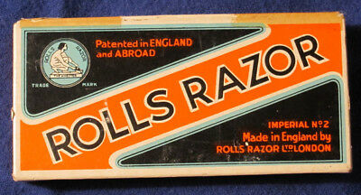 Rolls Razor Imperial #2, Rolls Hollow Ground, Made In England