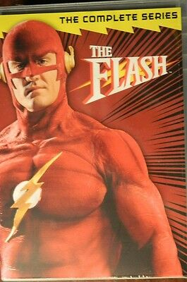 The FLASH The COMPLETE SERIES(1990-1991) 18+ Hours 22 Episodes 6-Disc Set SEALED