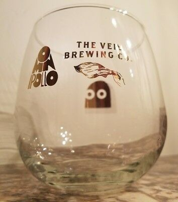 The Veil Brewing & Omnipollo Amun Gold Print Glass - Very Rare! 1 of 500