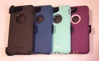 OtterBox Defender Series Case for iPhone 7 Plus 8 Plus with belt clip - colors