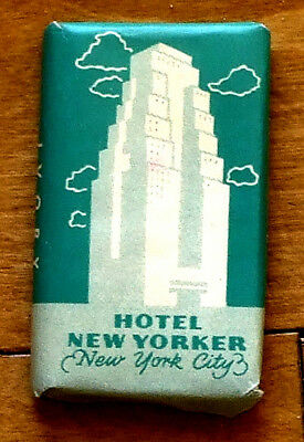 Decades Old Bar Soap Hotel New Yorker New York City [Now Rooms with Television!]