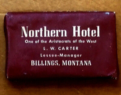 Decades Old Bar Soap Northern Hotel Billings Montana [Ivory Brand]