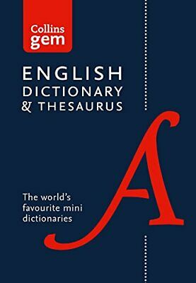 Collins English Gem Dictionary and Thesaurus (Collins... by Collins Dictionaries