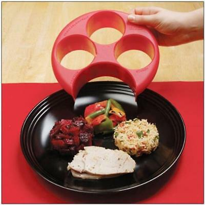 Meal Measure Portion Control Plate Food Manage Diet Weight Loss Watcher Tool B