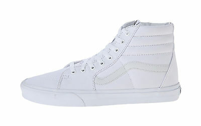 d65b6b9223 Vans Unisex Women Men Shoes SK8 Hi Top Canvas True All White Fashion  Sneakers