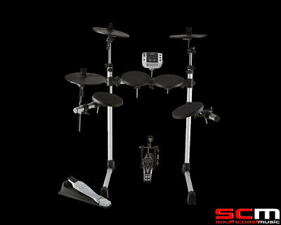 Now w/ Stool & Headphones! Ashton Electronic Drum Kit Rhythm X Drumkit USB/MIDI