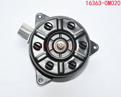 Radiator Cooling Fan Motor 16363-0M020 For Toyota Yaris Vios 1NZFE Camry 2AZFE