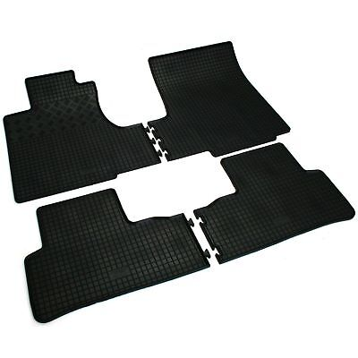 4 Tapis Caoutchouc Honda Cr-V 3 Iii Type Re 09/2006-12/2011 Sol Specifique