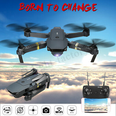 Eachine E58 720P WIFI FPV Foldable Arm Selfie Drone Quadcopter Christmas Gift