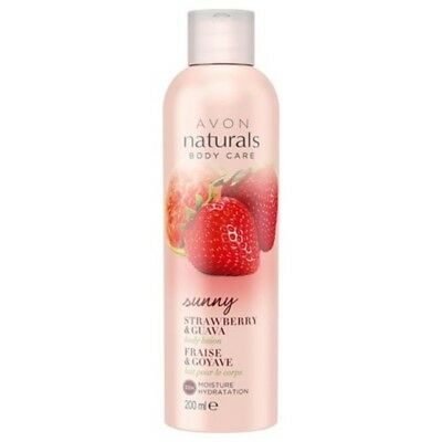 Avon Naturals Body Lotion, Strawberry and Guava 200 ml Best For Winter Brand New