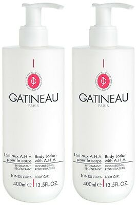 Gatineau AHA Body Lotion Duo Perfect For Winter Fast And Free Delivery Brand New