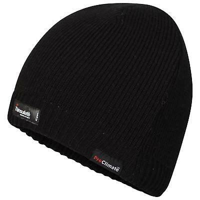 Adults Pro Climate Waterproof and Windproof Thinsulate Beanie Hat