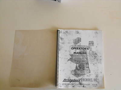 Bridgeport Machines Operator's Manual