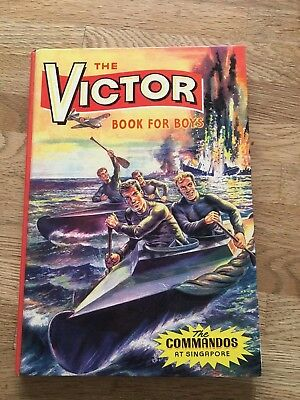 The Victor Book for Boys - Annual No.2 - 1965