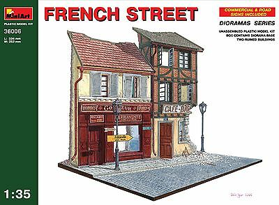 French street << MiniArt #36006, 1/35 scale