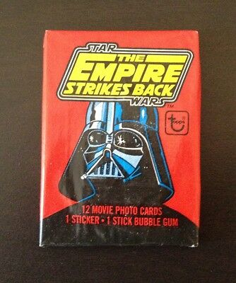 """1980 Topps """"The Empire Strikes Back Series 1"""" - Wax Pack (Fan Club Variation)"""