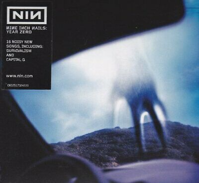 Nine Inch Nails - Year Zero - Nine Inch Nails CD 54VG The Fast Free Shipping