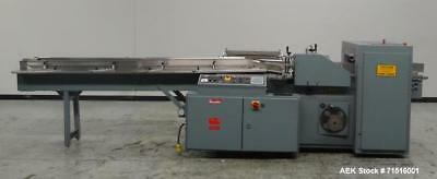 Used- Shanklin Model F5A Automatic Side Seal Shrink Wrapper. Capable of speeds u