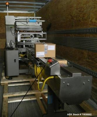 Used-MGS Model TLC Top Load Cartoner with Robotic Pick and Place Unit. Has an Ad
