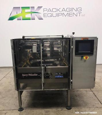 Used- Hayssen Form and Fill Vertical Packager with Poly Film Jaws, Continuous Mo