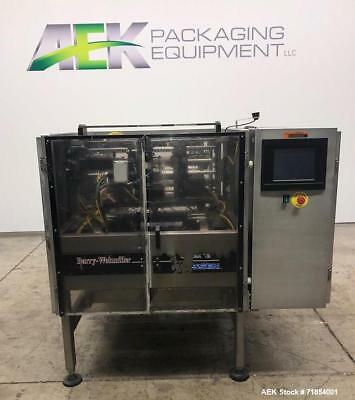 Used- Hayssen Form and Fill Vertical Packager with Poly Film Jaws, Model 12-16HP
