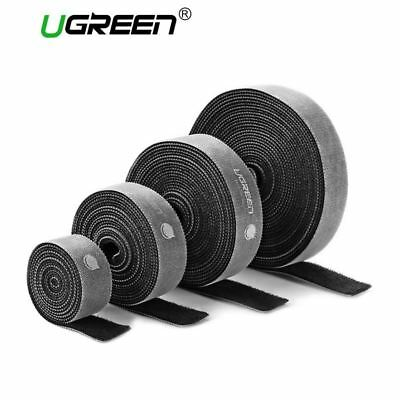 Ugreen Nylon Cable Winder Wire Organizer Eearphone Holder Mouse Cord Protector C