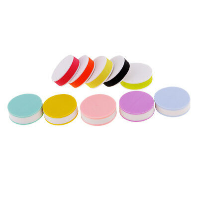 10x Colorful Round Rubber Stamp Carving Blocks for DIY Own Stamps Toys 25mm