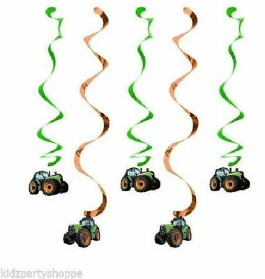 Tractor Time Birthday Party Decorations Dizzy Danglers Supplies