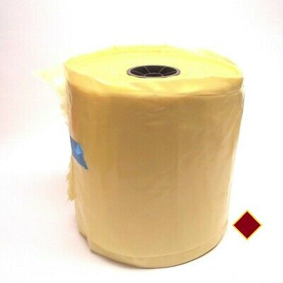 APCO 11 Inch X  4 Mil Seamless Yellow Tint Poly Tubing 1000 Ft Roll