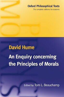 An Enquiry Concerning the Principles of Morals (Oxfo... by Hume, David Paperback