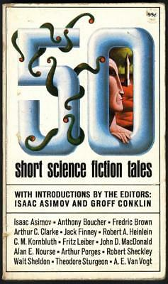 50 Short Science Fiction Tales - Isaac / Conklin, Groff Asimov - Acceptable -...