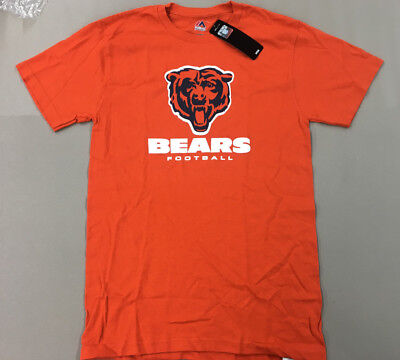 4d25e8bf NFL Majestic Chicago Bears Critical Victory T-Shirt MENS Sizes New With Tags