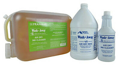 New 5 Gallon Franmar Chemical Aqua Wash Water Based Textile Ink Cleaner AW5GWD