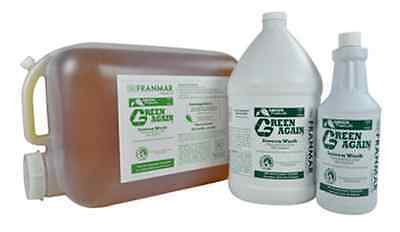 New 5 Gallon Franmar Chemical Green Again Textile Ink Cleaner GN5GWD