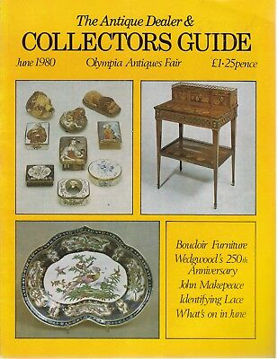 June 1980 The Antique Dealer and Collectors Guide - Good - Paperback