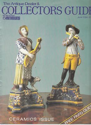 June 1984 The Antique Dealer and Collectors Guide - Good - Paperback
