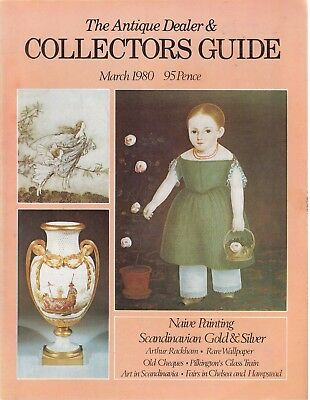 March 1980 The Antique Dealer and Collectors Guide - Good - Paperback