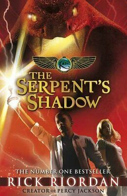 The Serpent's Shadow (The Kane Chronicles Book 3) by Riordan, Rick Book The Fast