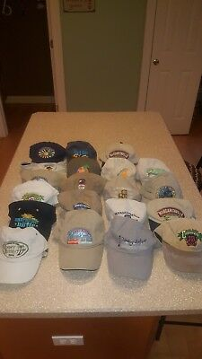 Vintage Jimmy Buffett Tour Hats 1999 - 2011 baseball caps new and used dbac5a07ce2