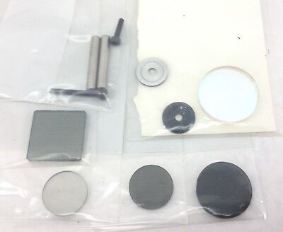 Asst Opto-Mechanical Replacement Components Lenses,Filters, Screws, Pins (A730)