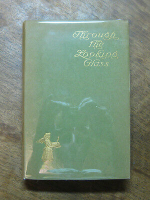 THROUGH A LOOKING GLASS by Lewis Carroll -HCDJ 1902 Harpers - Newell -FINE Alice