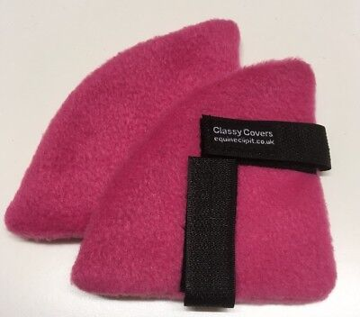 Pink Fleece  Riding Hat Ear Muffs Ideal Gifts For Your Horsey Friends 🛍🎁