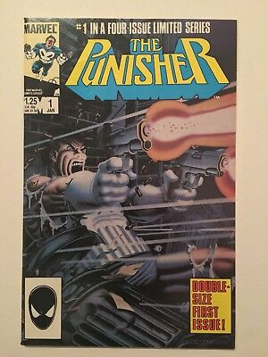 The Punisher #1 (Jan 1986, Marvel)
